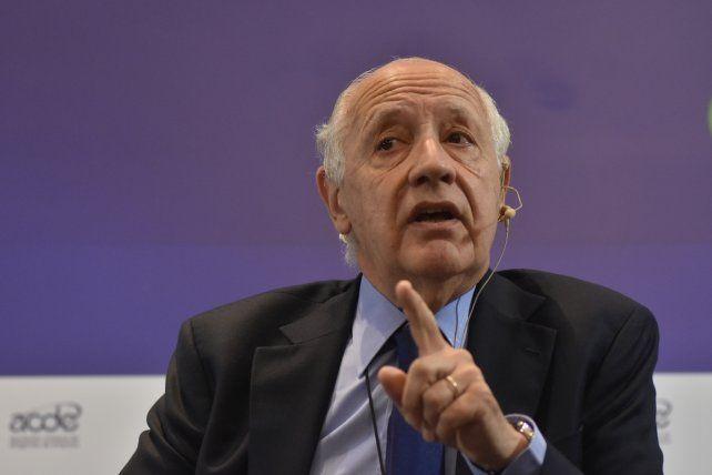 Crítico. Lavagna comparó la economía macrista con los 70 y los 90.