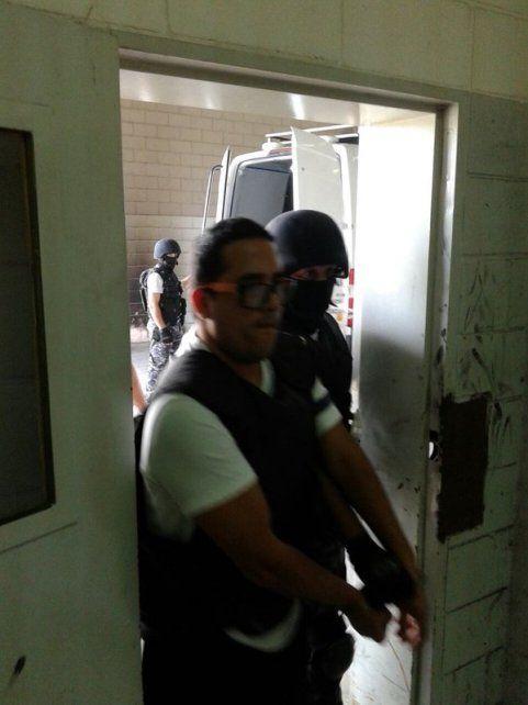 Idas y vueltas. A fines de enero Guille era enviado a una cárcel federal por rumores de fuga en Piñero. Ayer regresó.