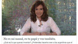 Cristina salió a defender a su madre de las acusaciones y apuntó contra Macri
