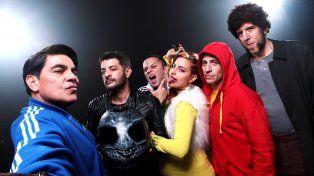 La banda. Los miembros de la bizarra Liga de la Justicia del conurbano bonaerense entran de nuevo en acción.