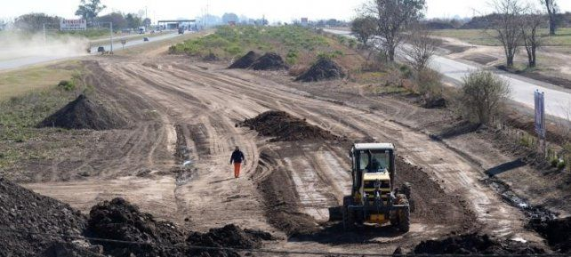 Recta final. A comienzos de 2015 se iniciaron tareas del acceso de la autopista a Puerto. Ahora se terminarían en enero.