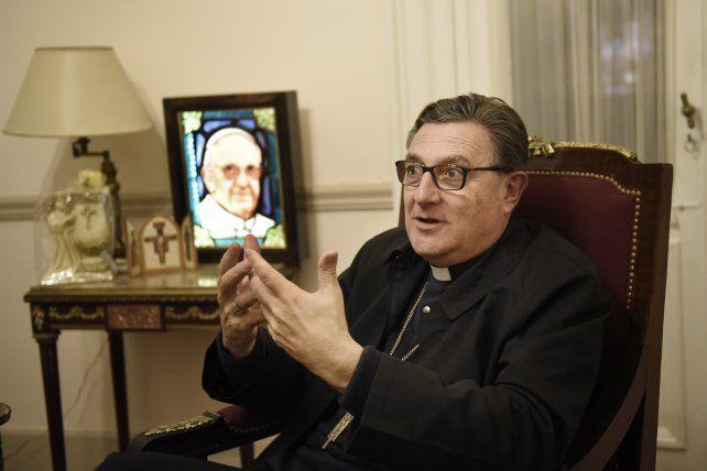 Martín coincidió con el Papa