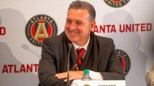 El Tata Martino sorprendió a todos en la presentación de la indumentaria del Atlanta United