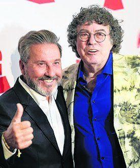 dúo. Ricardo Montaner y Piero.