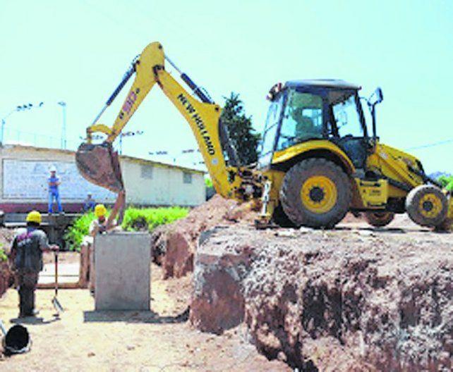 La obra es histórica para los vecinos del barrio 3 de Febrero.