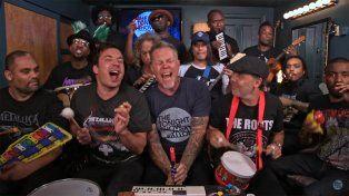 El desopilante clásico de Metallica interpretado con instrumentos de juguete