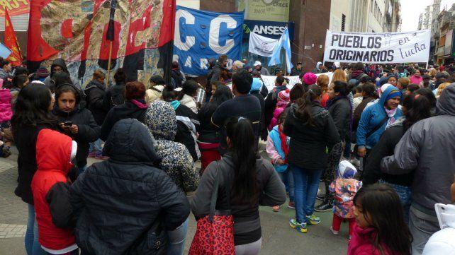 La jornada de protesta culminará con un acto en el edificio de la Ansés