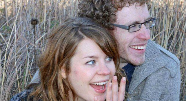 Johanna Watkins y su esposo Scott