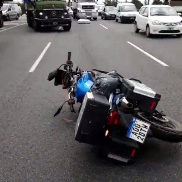 Marcos Di Palma hizo otra locura tras un grave accidente en moto en ...