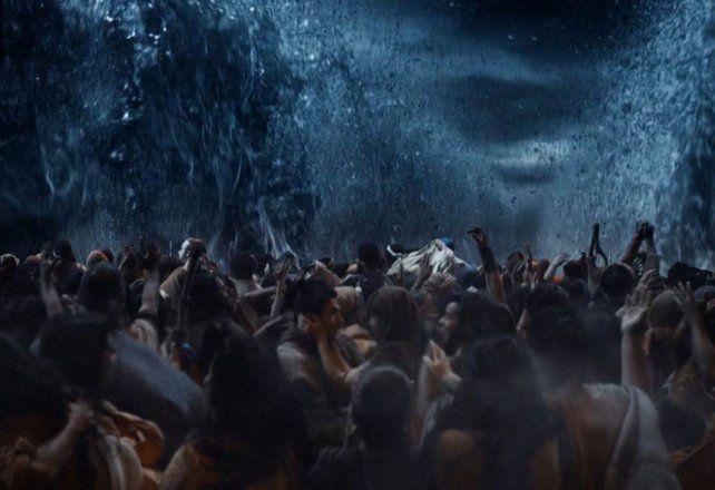 Cómo se hizo la escena de Moisés abriendo las aguas del Mar Rojo