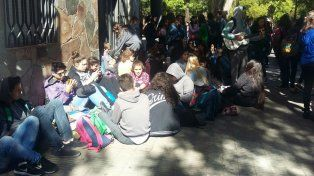 Los alumnos de la escuela Nigelia Soria