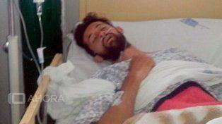 El joven argentino que se accidentó en Perú llegó al país en un avión sanitario