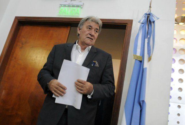El presidente de la comisión normalizadora de la AFA