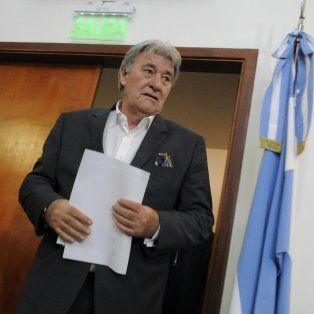 El presidente de la comisión normalizadora de la AFA, Armando Pérez.