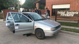 Penoso. El Volkswagen Polo en cuyo interior ocurrió la tragedia. El padre del nene quedó imputado de