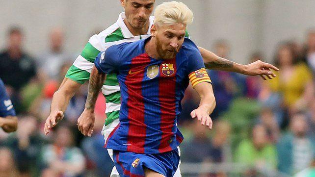 Messi fue relevado una hora antes del partido.