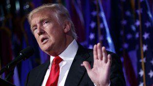 Trump promete más proteccionismo.