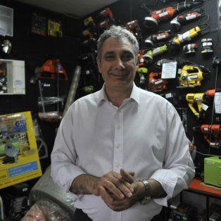 Diagnóstico. Sergio Angiulli, presidente de la Cámara de Ferreteros de Rosario.