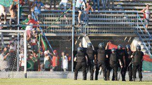 Las imágenes de los incidentes en el doloroso descenso de Coronel Aguirre