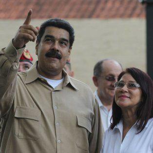 Maduro se permitió esa ocurrencia en una conferencia que brindó desde Caracas, luego de leer un tuit de la cuenta de la Embajada venezolana en Buenos Aires.
