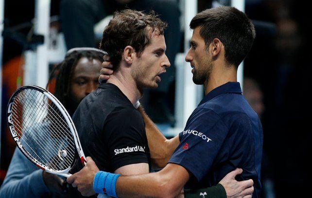 Murray derrotó a Djokovic y se aseguró finalizar la temporada como número uno del ranking.