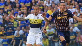 Central mereció más, pero debió conformarse con un empate con Boca por 1-1