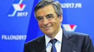 satisfecho. François Fillon superó a los dos favoritos. Es un liberal que postula reducir el tamaño del Estado.