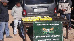 la quiaca-villazón. El turista peruano ingresaba con cocaína.