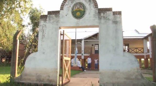 La escuela Leandro N. Alem