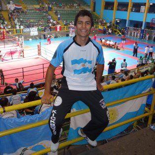 Emilio, el hijo mayor de Alberto Lotuf, tenía 20 años. Murió ayer, cuando participaba en un torneo en Buenos Aires.