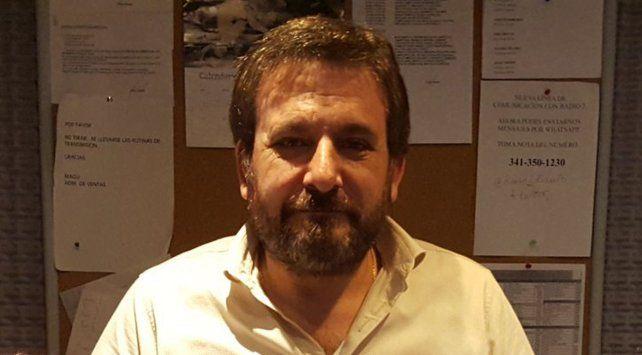 Alberto Lotuf recibió el apoyo de sus conocidos y de su audiencia.