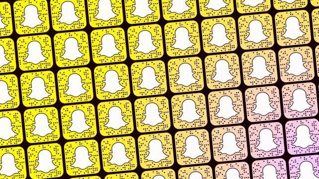 El servicio de mensajería Snapchat es muy popular entre los adolescentes y los adultos jóvenes.