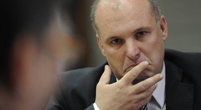 El diputado provincial del radicalismo Jorge Henn.