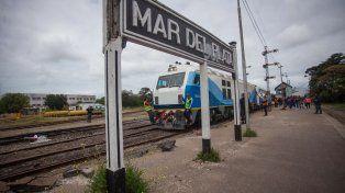 Desde el Ministerio de Transporte indicaron que se renovaron 208 kilómetros de vías en la traza.