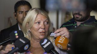La diputada nacional Elisa Carrió (CC-ARI)