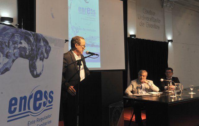 La audiencia se desarrolló esta mañana en la sede de Gobierno de la Universidad Nacional de Rosario (UNR).