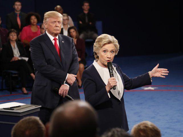 Marcha atrás. Finalmente Trump rompió su promesa electoral de hacer investigar a su rival demócrata.