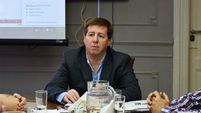 El secretario de Transporte de la provincia Pablo Jukic.