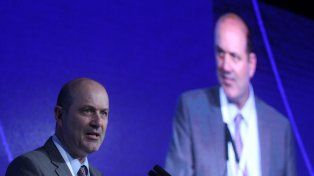 Defensa. El presidente del BCRA rechazó las críticas de los industriales a la política de altas tasas de interés.