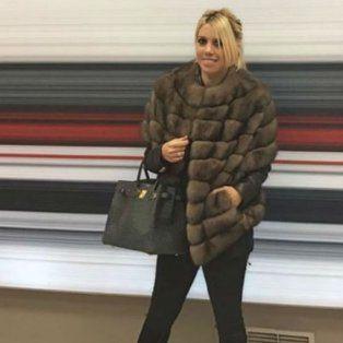 Wanda publicó una foto con un tapado de piel, recibió tantas críticas que decidió bloquear los comentarios.