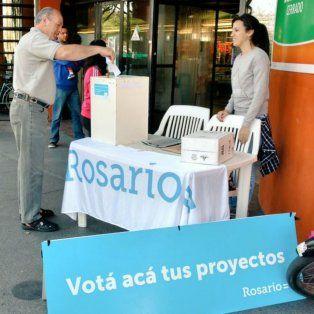 Los rosarinos votaron en el Presupuesto Participativo.
