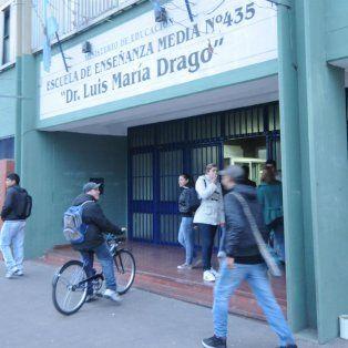La escuela de calle Buenos Aires.