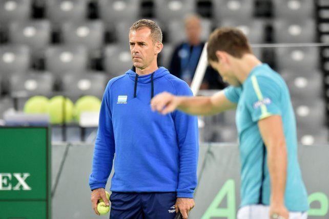 El capitán del equipo argentino de Copa Davis ya definió al segundo singlista para la final