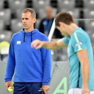el capitan del equipo argentino de copa davis ya definio al segundo singlista para la final