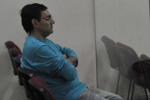 sin salida. El ex policía César Adrián Juárez