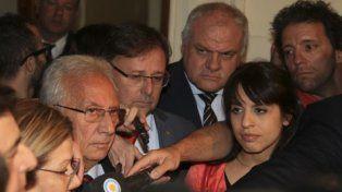 Acuerdo. Los jefes de los bloques opositores de Diputados informaron la nueva hoja de ruta parlamentaria.
