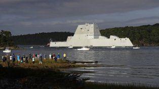 En problemas. La nave furtiva USS Zumwalt costó u$s4.400 millones.