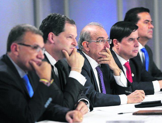 A un paso. El nuevo pacto fue renegociado con propuestas de la oposición.
