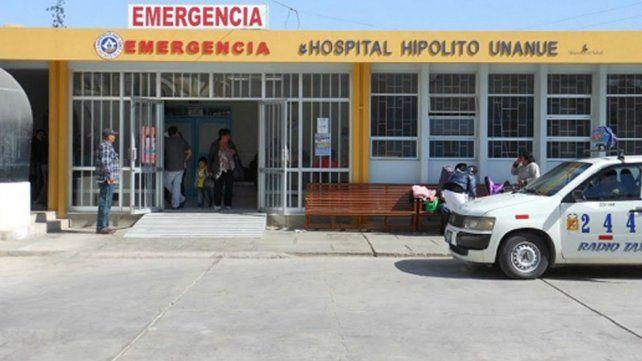 El hospital donde ocurrió el singular hecho