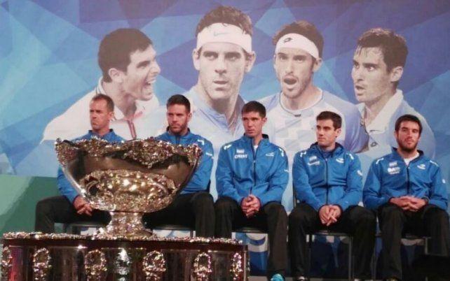 Delbonis abre la serie final ante Cilic y el equipo croata se despachó con una sorpresa
